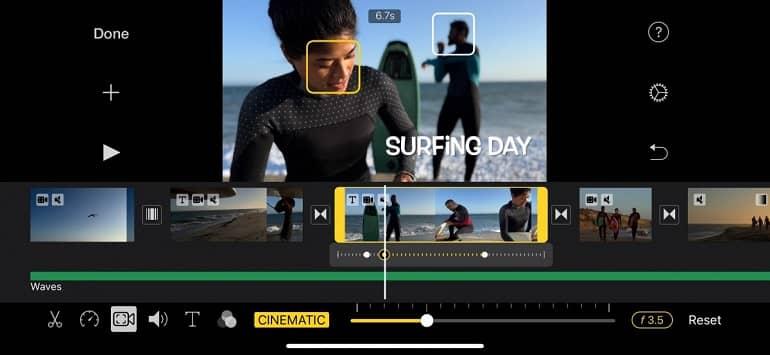 apple imovie clips apps update 1 - اپل حالت سینماتیک و پشتیبانی ProRes را به iMovie و Clips می افزاید