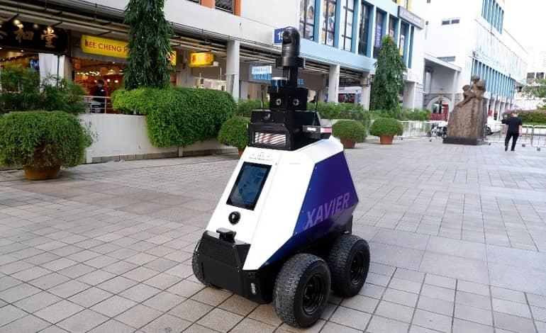 f4bdaa10 0f9f 11ec bbde f3b340cf1797 - سنگاپور ربات هایی را برای گشت زنی در مناطق عمومی مستقر می کند