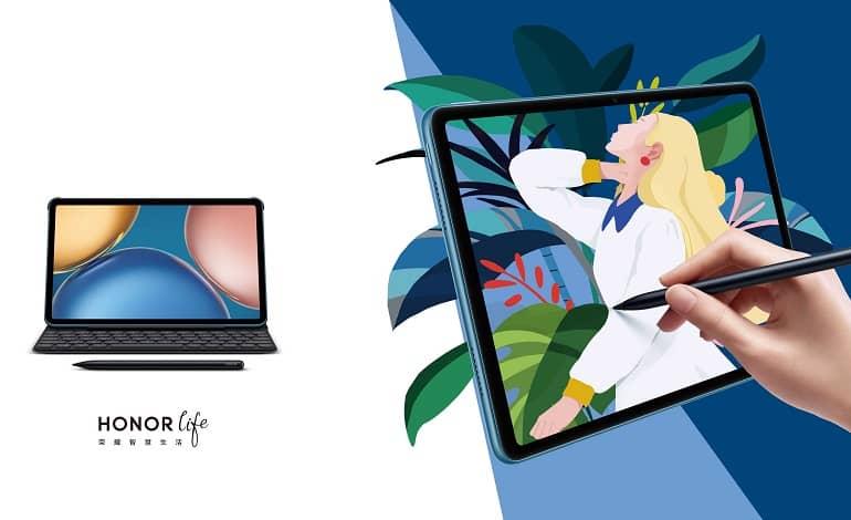 honor pad v7 ofic - آنر پد V7 با تراشه Kompanio 900T معرفی شد