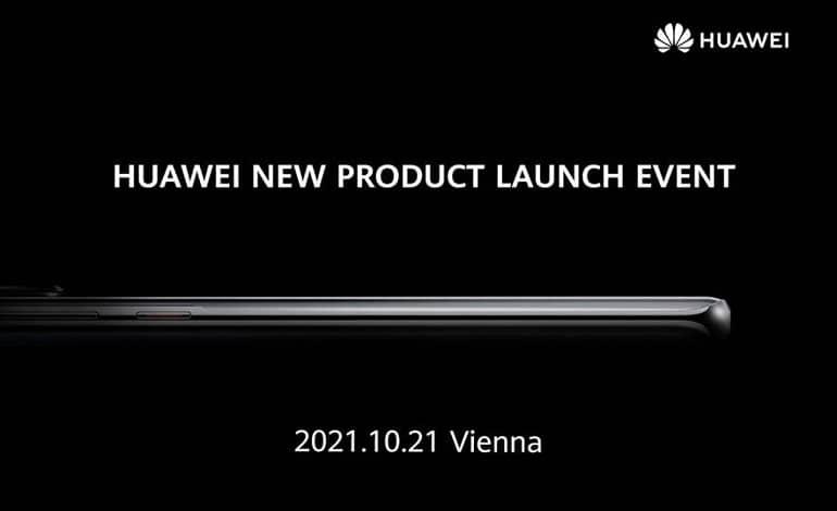 huawei october 21 launch event - هواوی در تاریخ 21 اکتبر محصولات جدیدش را معرفی می کند