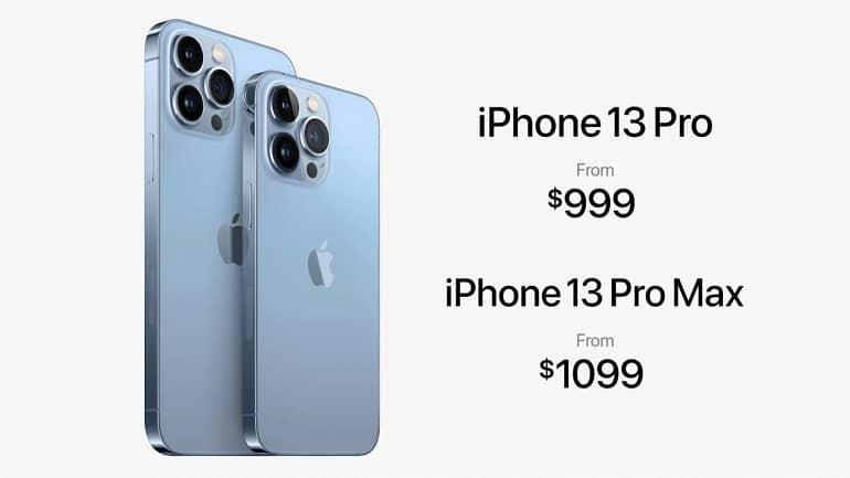 iPhone 13 Pro pricing - آیفون 13 پرو و 13 پرو مکس معرفی شدند
