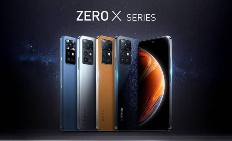 infinix zero x series announced - اینفینکس از سری Zero X با دوربین پرسکوپ رونمایی کرد