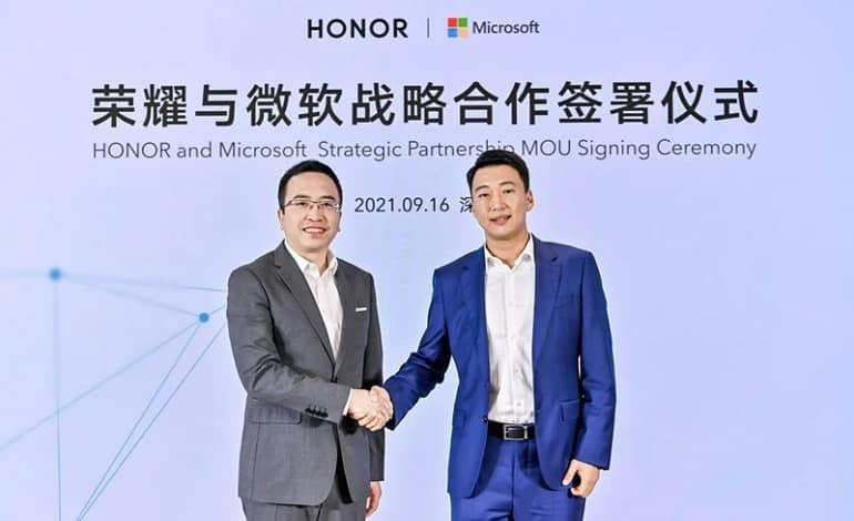 microsoft honor - آنر اولین شرکت در عرضه لپ تاپ ها با ویندوز 11 از پیش نصب شده خواهد بود