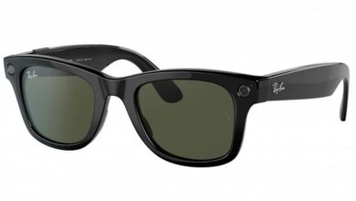 ray ban stories 390x220 - فیسبوک و Ray-Ban از عینک هوشمند Ray-Ban Stories رونمایی کردند