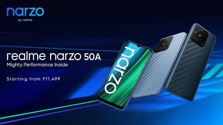 realme narzo 50 series ofic 1 - ریلمی Narzo 50A و Narzo 50i معرفی شدند