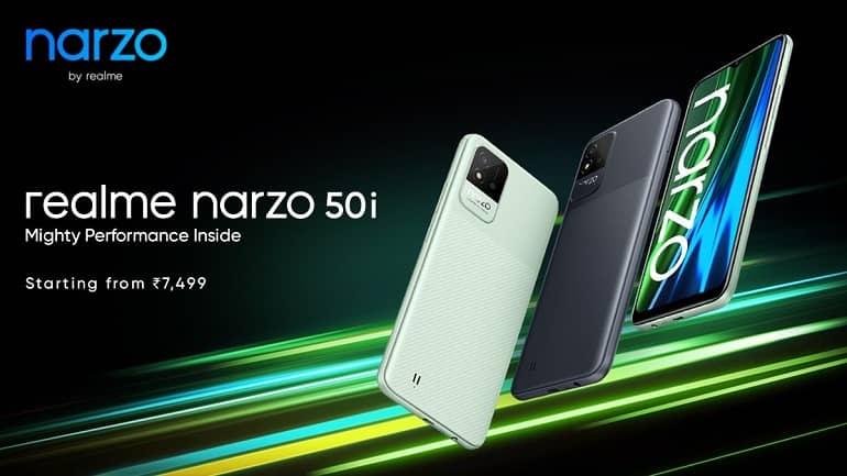 realme narzo 50 series ofic 2 - ریلمی Narzo 50A و Narzo 50i معرفی شدند