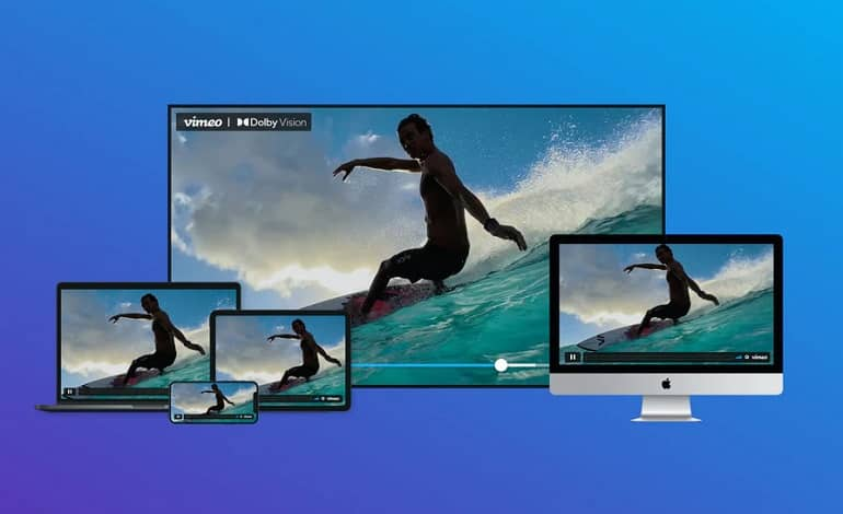 vimeo dolby vision - امکان پشتیبانی از Dolby Vision برای سرویس Vimeo فراهم شد