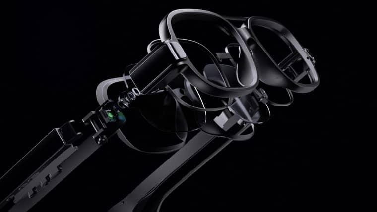 xiaomi smart glasses 1 - شیائومی از عینک های هوشمند مجهز به MicroLED رونمایی کرد
