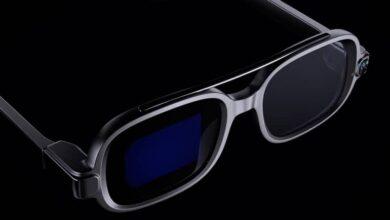 xiaomi smart glasses 390x220 - شیائومی از عینک های هوشمند مجهز به MicroLED رونمایی کرد