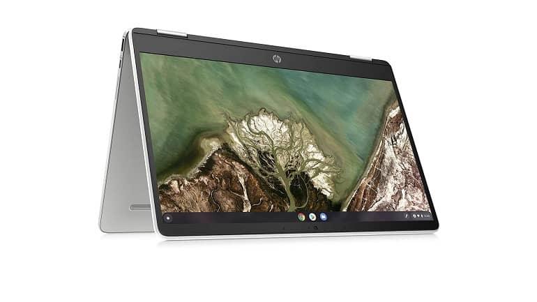 HP Chromebook x360 14a AMD 3015Ce Featured B - نسخه جدید اچ پی کروم بوک x360 14a با تراشه AMD 3015Ce