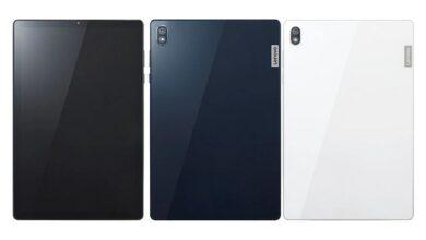 LENOVO TAB6 1 390x220 - عرضه تبلت لنوو تب 6 5G با تراشه اسنپدراگون 690
