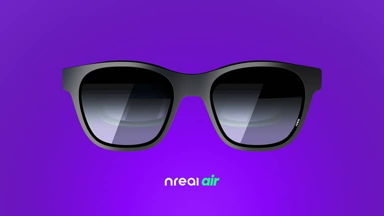 Nreal Air Front - با عینک هوشمند واقعیت افزوده Nreal Air آشنا شوید