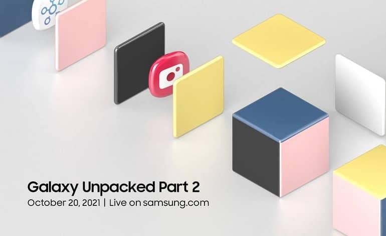 Samsung Galaxy Unpacked Part 2 - برگزاری رویداد Galaxy Unpacked Part 2 سامسونگ در تاریخ 20 اکتبر