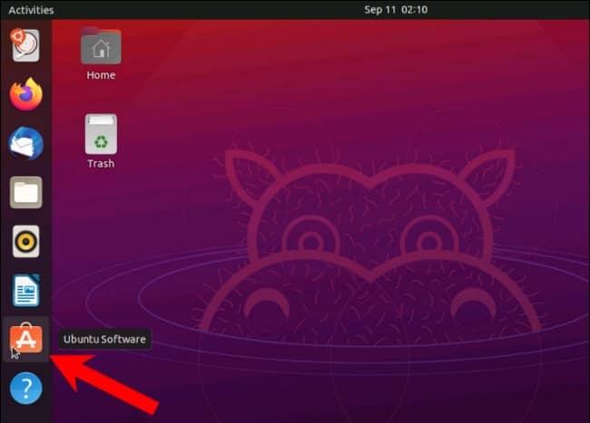 Ubuntu software - آموزش دانلود و نصب استیم در لینوکس