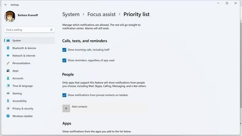 focus assist windows 11 microsoft how to 3 - نحوه استفاده از Focus Assist در ویندوز 11