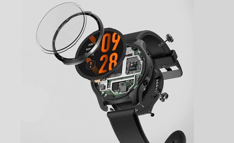 mobvoi ticwatch pro 3 ultra gps 1 - تیک واچ پرو 3 اولترا GPS با نمایشگر دوم به روز شده معرفی شد