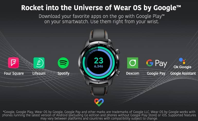 mobvoi ticwatch pro 3 ultra gps - تیک واچ پرو 3 اولترا GPS با نمایشگر دوم به روز شده معرفی شد