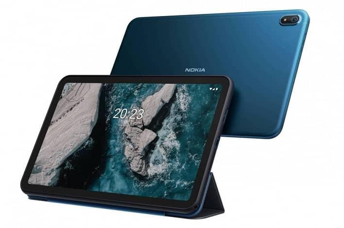 nokia t20 tablet announced - تبلت نوکیا T20 با دو نسخه Wi-Fi و 4G رونمایی شد