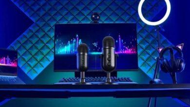 razer seiren v2 microphones 390x220 - رونمایی ریزر از میکروفون های جدید سری Seiren V2