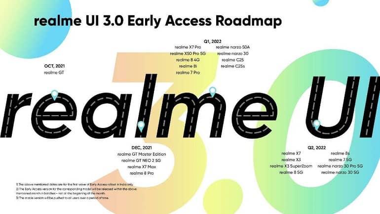 realmeui 3 0 official - رابط کاربری Realme UI 3.0 برپایه اندروید 12 معرفی شد