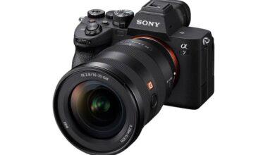 sony as74 1 390x220 - رونمایی از دوربین سونی A7 IV با سنسور 32 مگاپیکسلی
