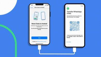 whatsapp history transfer ios to android 12 390x220 - ابزار انتقال تاریخچه iOS به اندروید واتس اپ در دستگاه های پیکسل ارائه شد