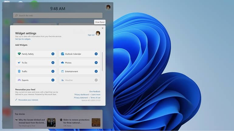 windows 11 widget how to microsoft 2 - نحوه کار با پنل ویجت ها در ویندوز 11