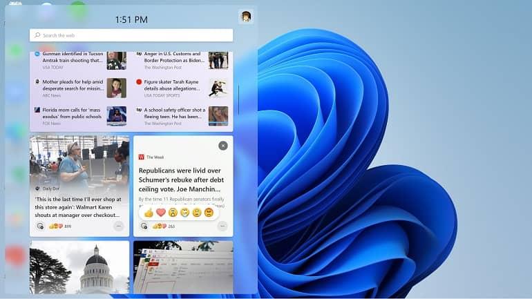 windows 11 widget how to microsoft 3 - نحوه کار با پنل ویجت ها در ویندوز 11